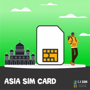 I J SIM Asia SIM Card