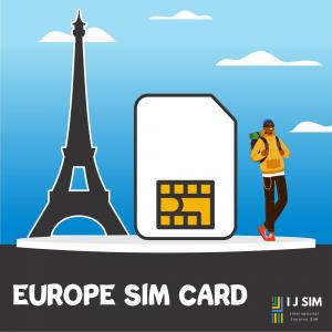 I J SIM Europe SIM Card
