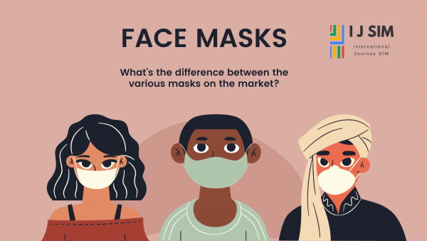 I J SIM What's the difference between the various masks on the market?