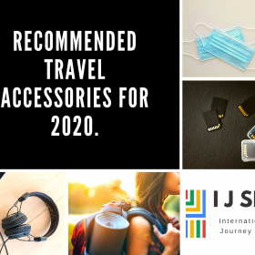 Recommended travel accessories