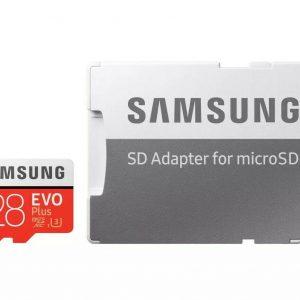 I J SIM Samsung Evo Plus Micro SD Card 128GB