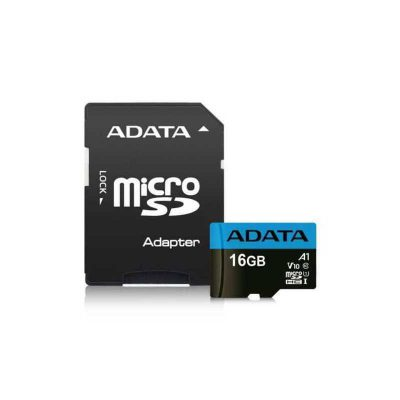 ADATA 16 GB MicroSD Card with Adapter