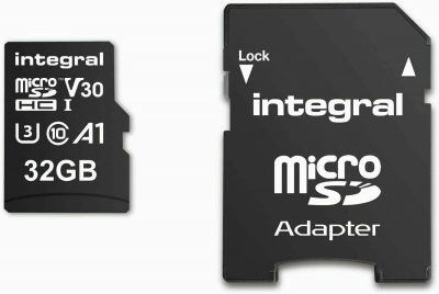 Integral Memory 32 GB MicroSD Card with Adapter